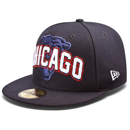 Chicago Bears NFL DRAFT FITTED Hat SF02